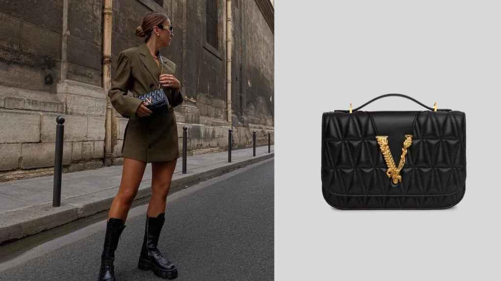 Versace también es una firma recurrente en los estilismos de Lovely Pepa.