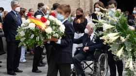 Funeral de Fabiola Domecq en Jerez de la Frontera.