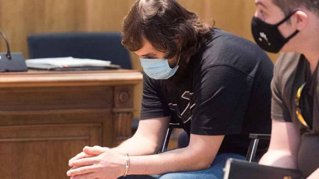 Iván, asesino confeso, en la tercera sesión del juicio