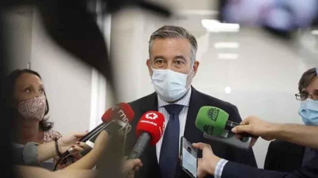 El consejero de Justicia de Madrid, Enrique López. EP