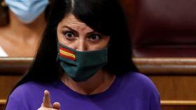 Macarena Olona, diputada de Vox, en el Congreso.