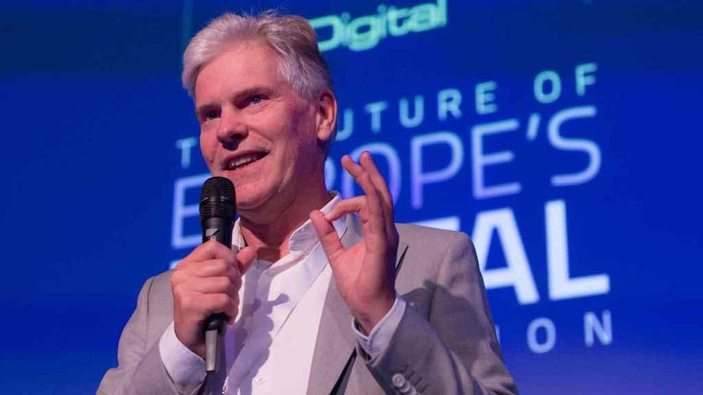 El director de EIT Digital, Willem Jonker.