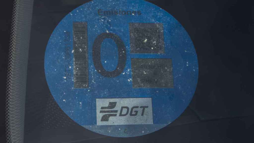 Dispone de la etiqueta CERO de la DGT.