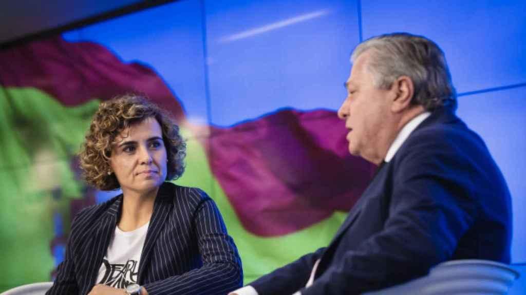 Dolors Montserrat, jefa de la delegación del PP en el Parlamento Europeo, y Leopoldo López Gil, eurodiputado.