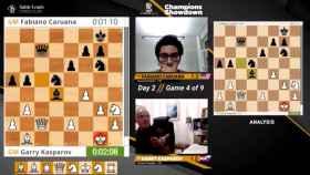 La partida de Kasparov contra Caruana