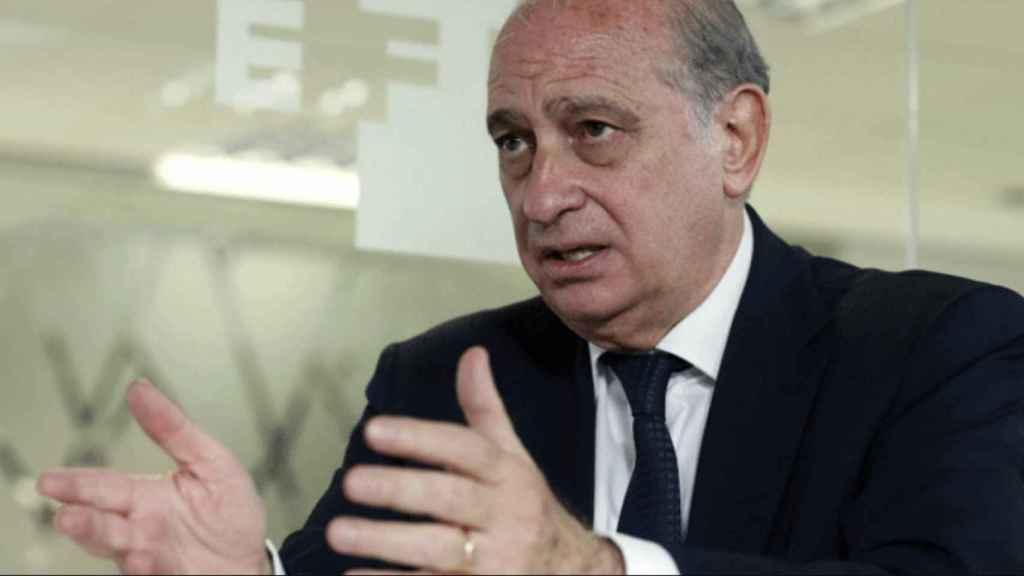 El exministro del Interior Jorge Fernández Díaz. Efe