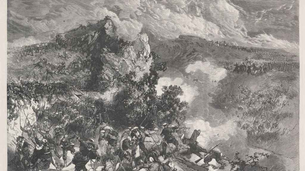 Combate de Mañaria (1872).