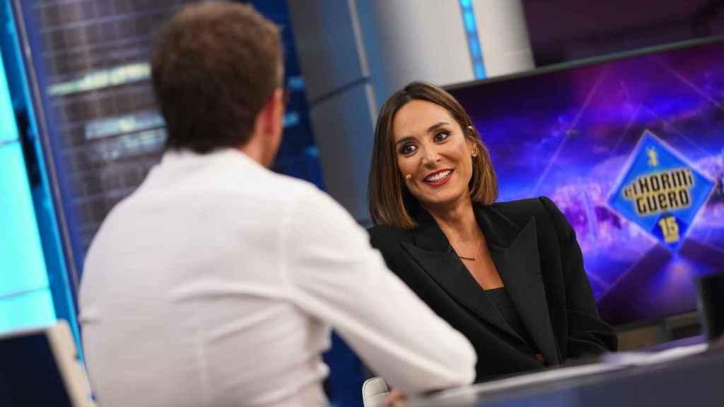 Tamara Falcó, hace una semana, inaugurando la nueva temporada de 'El Hormiguero'.