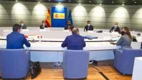 Reunión del ministro de Inclusión, Seguridad Social y Migraciones, José Luis Escrivá, con ATA, UPTA y Uatae.
