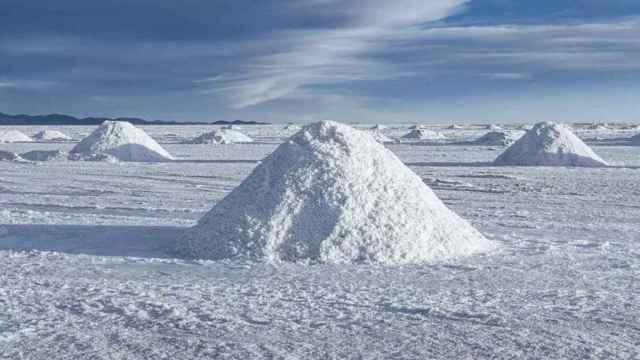 Montañas de litio