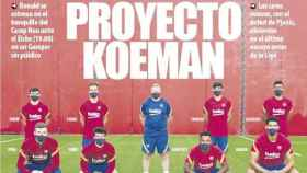 Portada Mundo Deportivo 19-09-2020