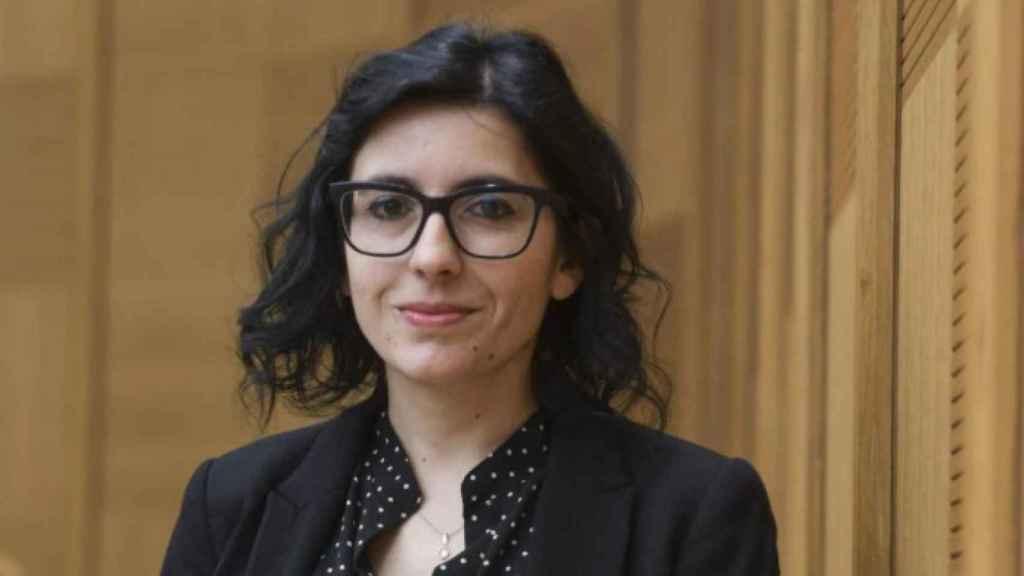 Fabiana Dadone, de 36 años, ministra de Administración Pública del Movimiento 5 Estrellas.