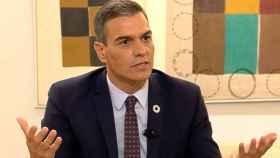 Sánchez, durante la entrevista.