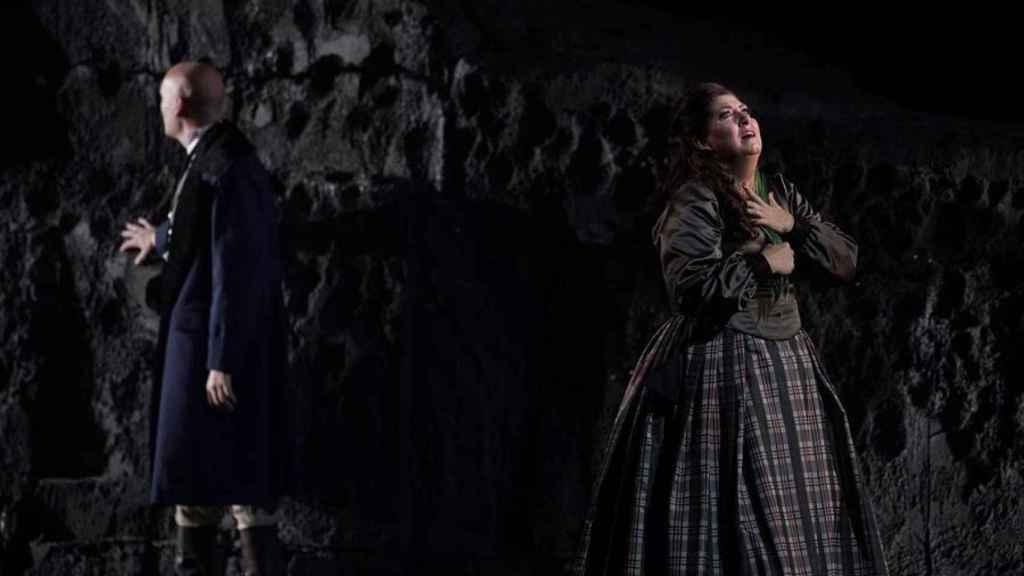 El tenor Michael Fabiano junto a la soprano Anna Pirozzi.