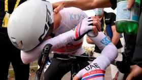 Pogaçar, emocionado tras proclamarse virtual ganador del Tour de Francia