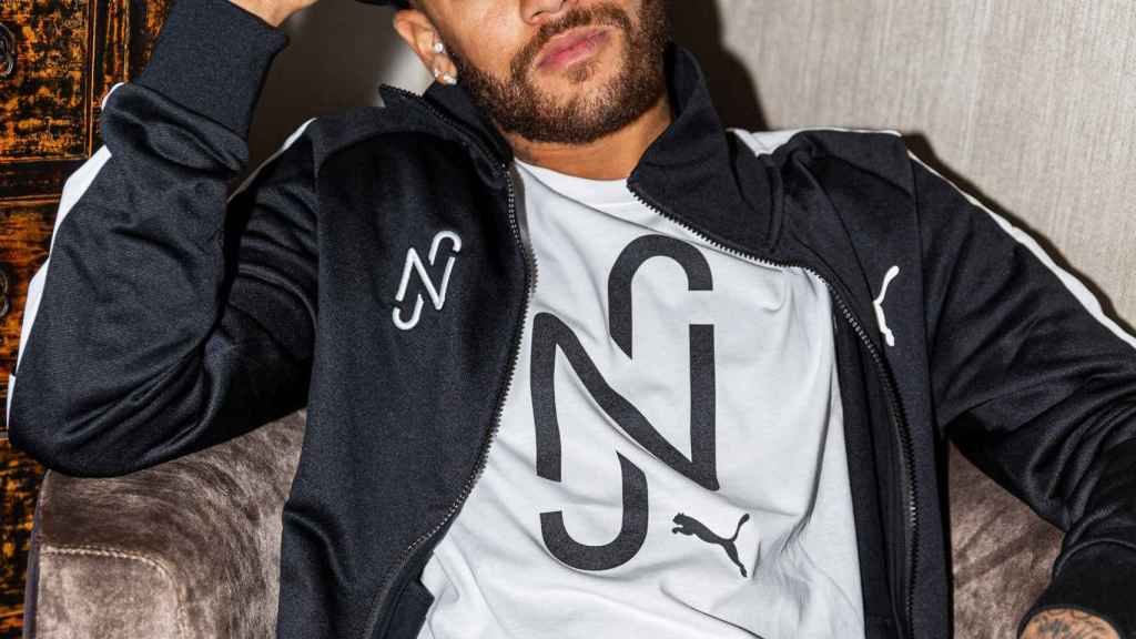 Neymar firma con Puma