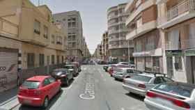 Imagen de la calle Doctor Ferrán, en Elche, donde ha ocurrido el suceso.