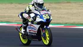 Romano Fenati en el Gran Premio de Emilia-Romagna