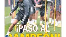 La portada del diario AS (20:09:2020)