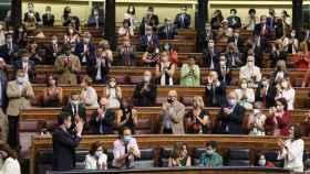 FOTO: Pedro Sánchez, en el Congreso (Archivo Moncloa)