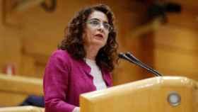 María Jesús Montero, en el Senado.