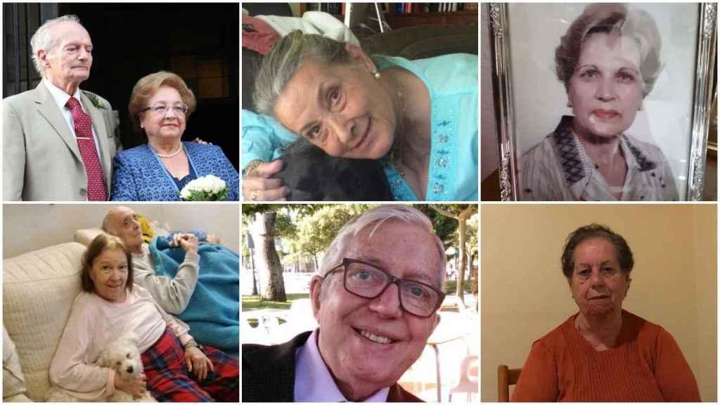 Pedro, Luisa, Felicidad, María de La Paz, Manuela, Daniel son algunas de las víctimas.