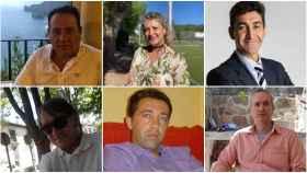 Eusebio, Felicidad,Jesús Luis, Luis, Carlos Henrique y Alfonso han perdido seres queridos a causa del virus.
