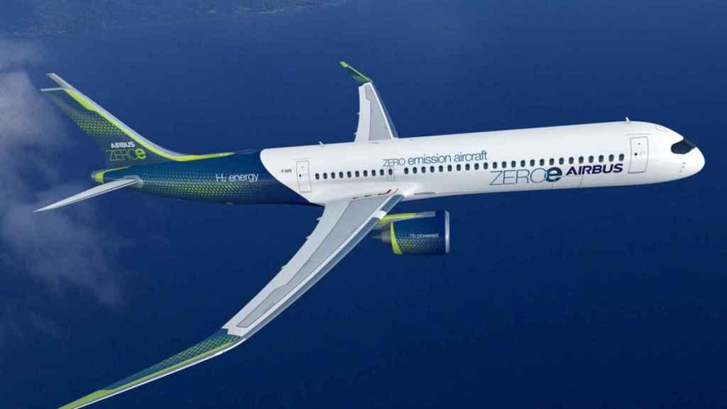 Diseño con turbofán de Airbus