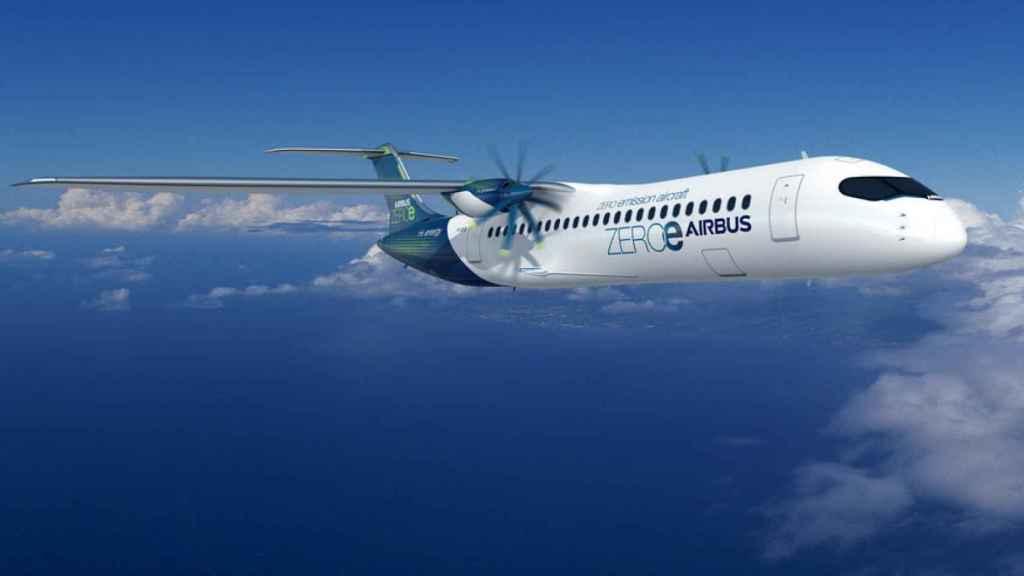 Diseño con turbohélice de Airbus
