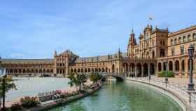 Plaza de España en Sevilla.