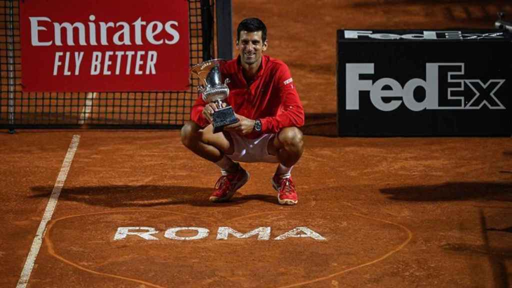 Novak Djokovic, campeón del Masters 1000 de Roma 2020