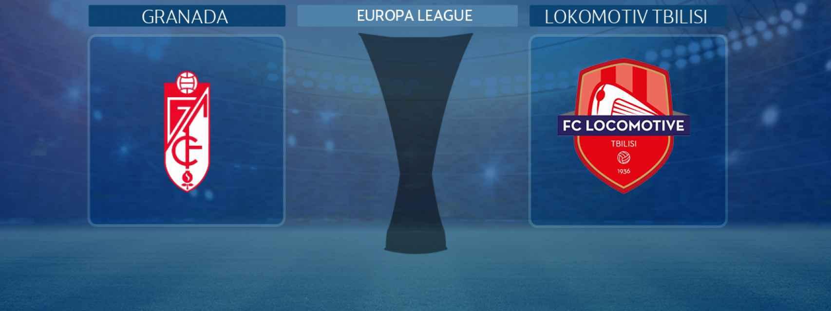 Granada - Lokomotiv Tbilisi, partido de la previa de la Europa League