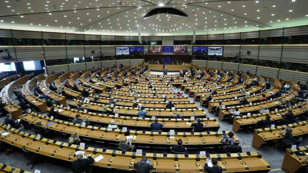 Vista general del Parlamento europeo