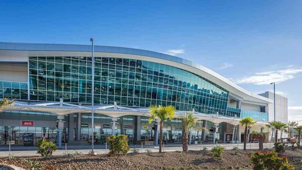Foto de archivo del aeropuerto de San Diego.