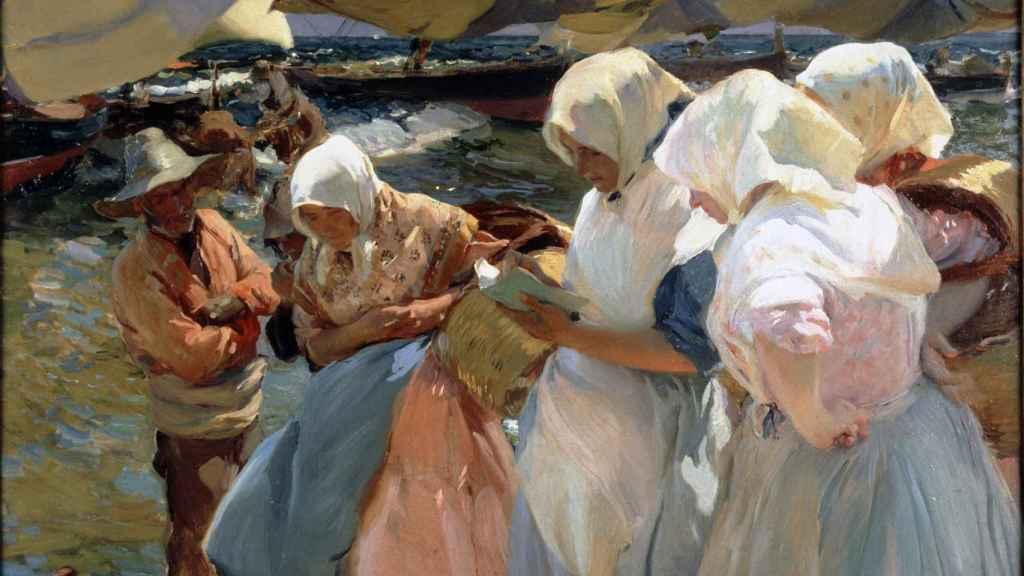 'Pescadoras valencianas', de Joaquín Sorolla.