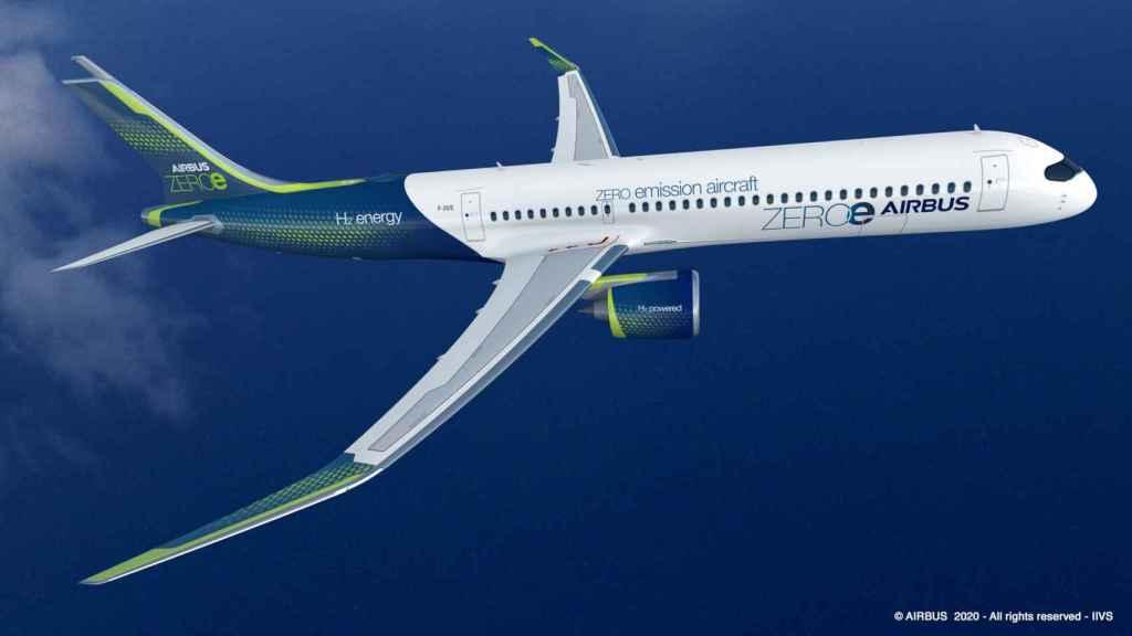 Avión de cero emisiones de Airbus