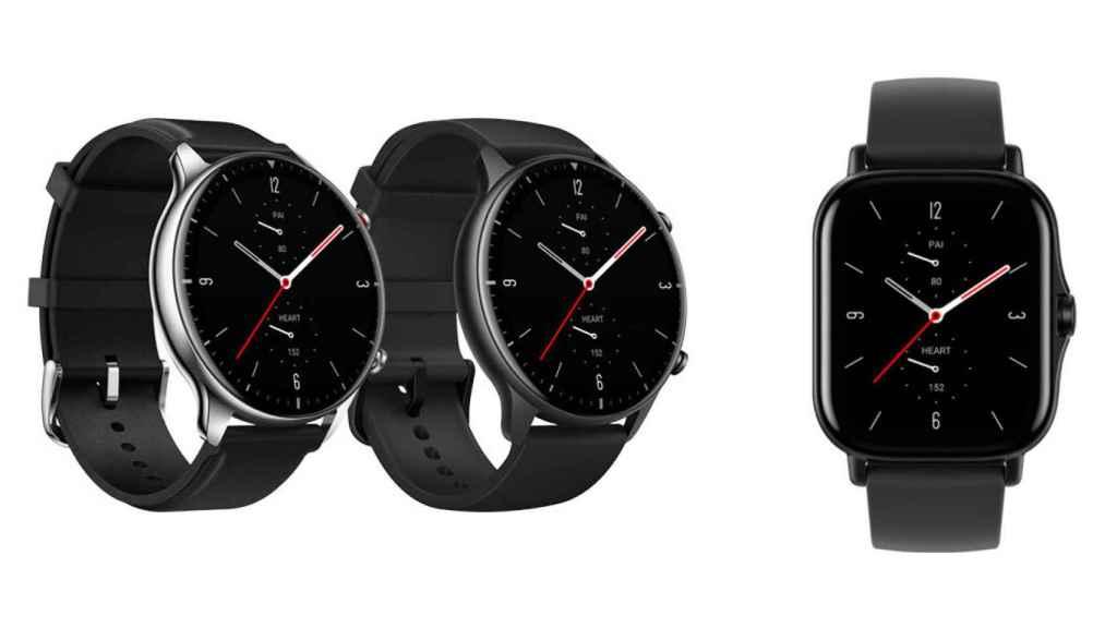 El Amazfit GTS 2 tiene el diseño cuadrado del Apple Watch.