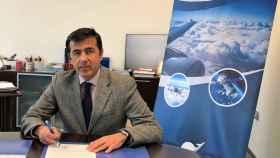 El director general de Andalucía Aerospace, Juan Román.