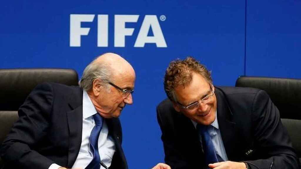 Blatter y Valcke, miembros de la FIFA