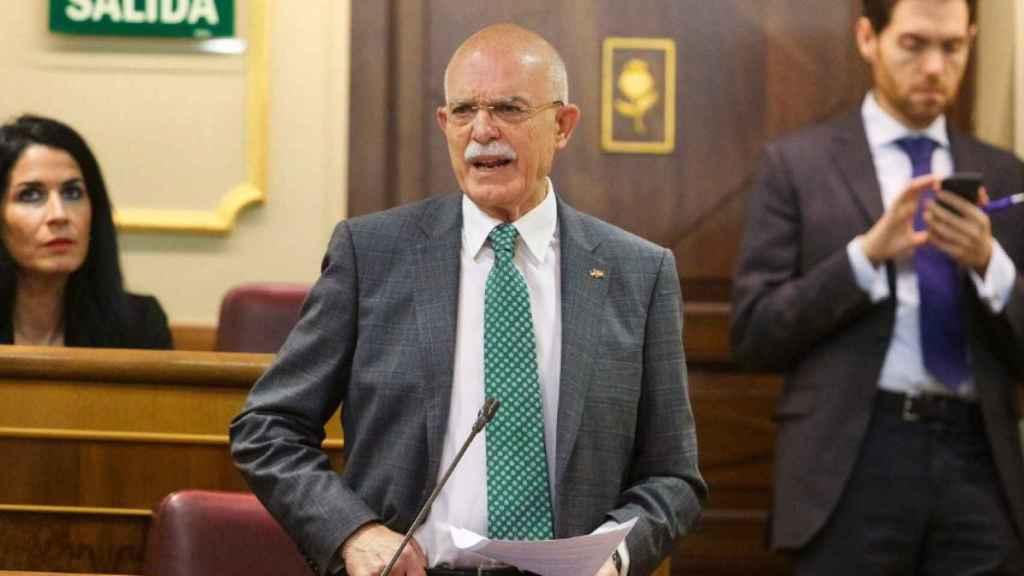 El diputado de Vox por Cádiz Agustín Rosety en una imagen de archivo.