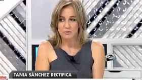 Cuatro ficha en exclusiva a Tania Sánchez hasta finales de septiembre