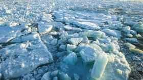 Deshielo en el Ártico.