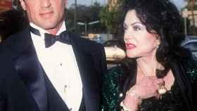 Sylvester Stallone junto a su madre, Jackie.