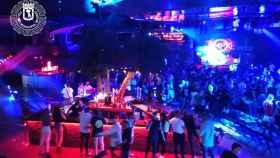 Momento del concierto en La Riviera.
