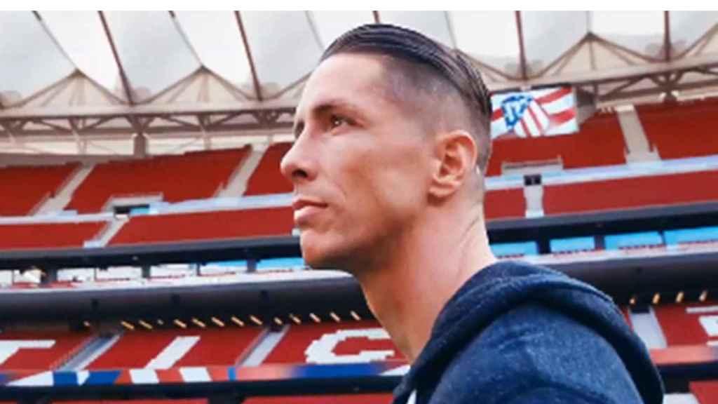 Fernando Torres, en su documental de Amazon Prime