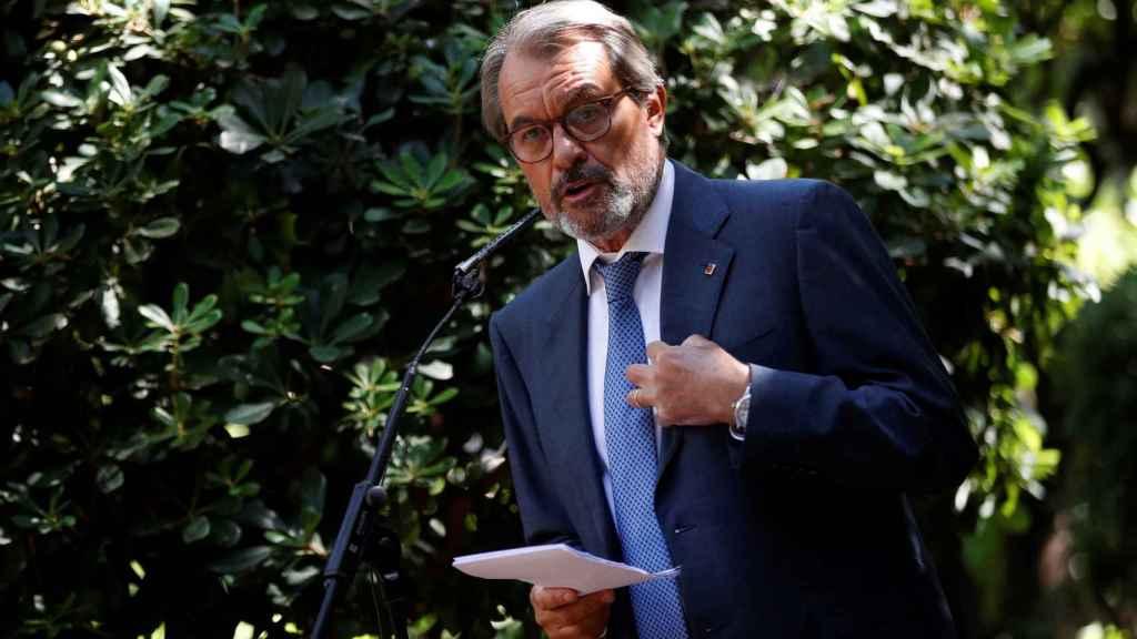 Artur Mas, expresidente de la Generalitat de Cataluña.