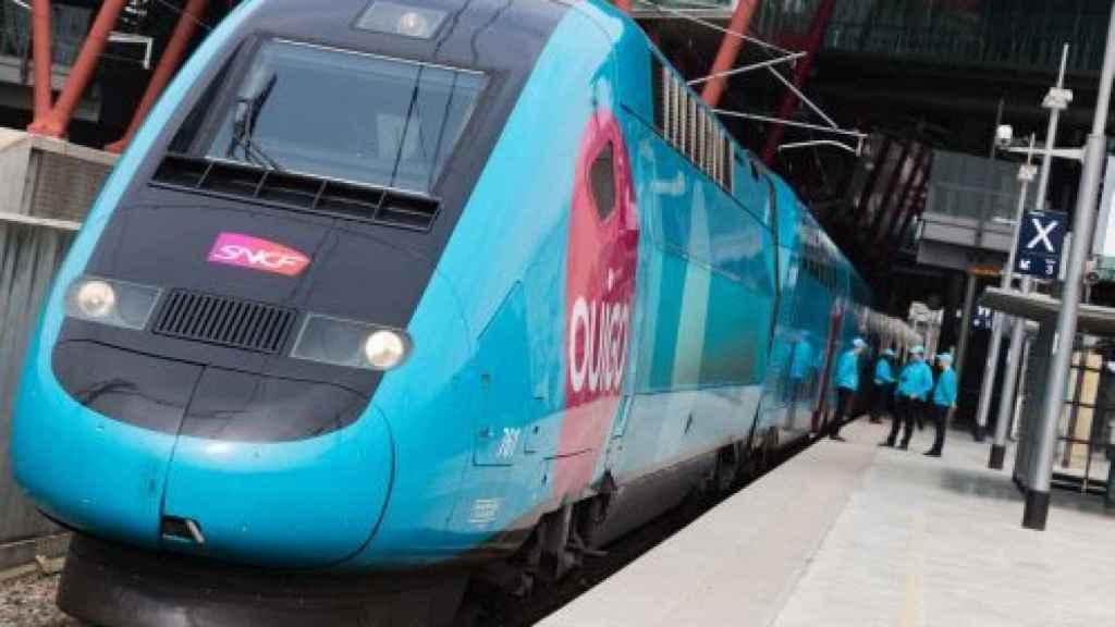 Un tren de Ouigo.