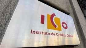 El logo del Instituto de Crédito Oficial.