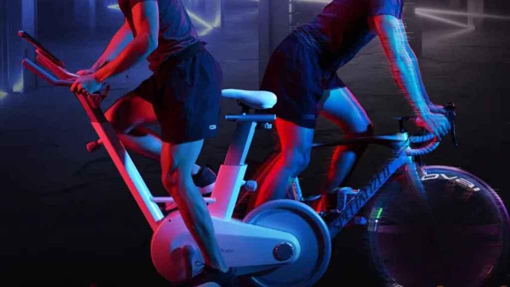 La bicicleta de Xiaomi te permitirá ejercitar con los amigos.