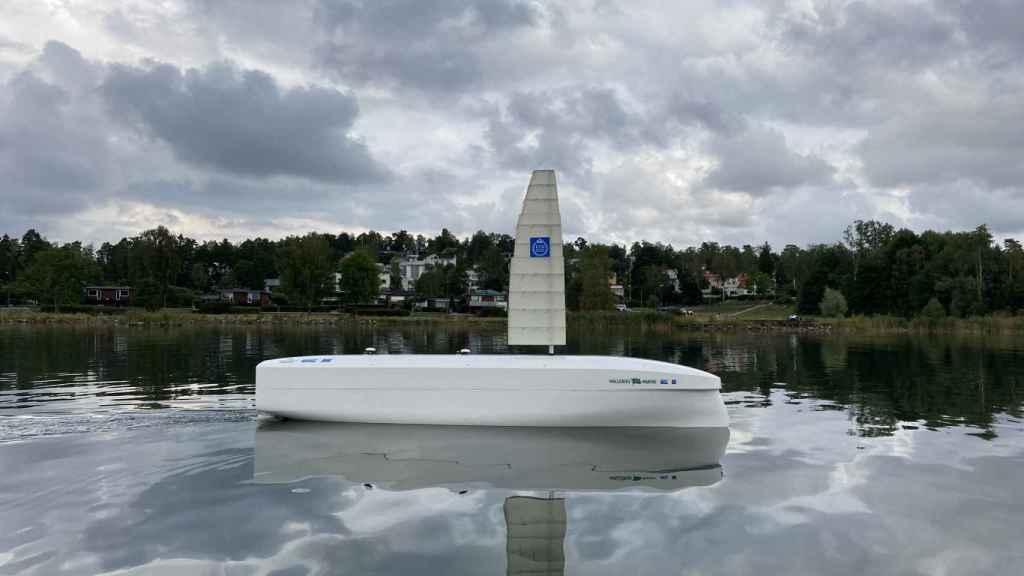 Prototipo a escala del barco